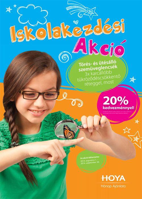 Törés- és ütésálló szemüveglencsék Super Hi-Vision réteggel 20% kedvezménnyel!